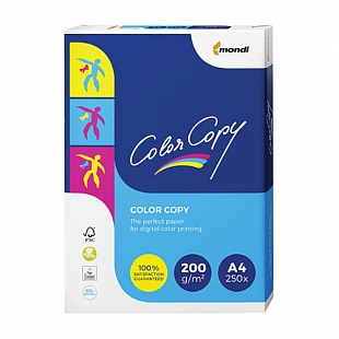 Бумага COLOR COPY CLEAR, ф.А4, 200 г/м2, 250 л.