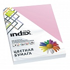 Бумага цветная, Index Color, 80гр, А4, розовый (25), 100л