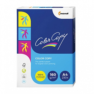 Бумага COLOR COPY CLEAR, ф.А4, 160 г/м2, 250 л.