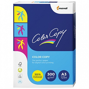 Бумага COLOR COPY CLEAR, ф.А3, 300 г/м2, 125 л.